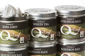 Darjeeling Black Tea, Tea Bags in Tin
