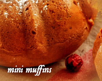 [ mini muffins ] ~ from Monterey Bay Spice Co