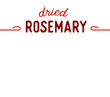 [ Rosemary ] ~ from Monterey Bay Spice Co