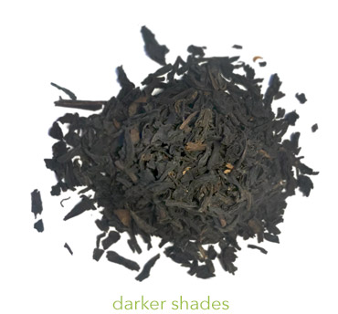 loose black tea for hair rinse