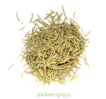 dried rosemary for hair rinse