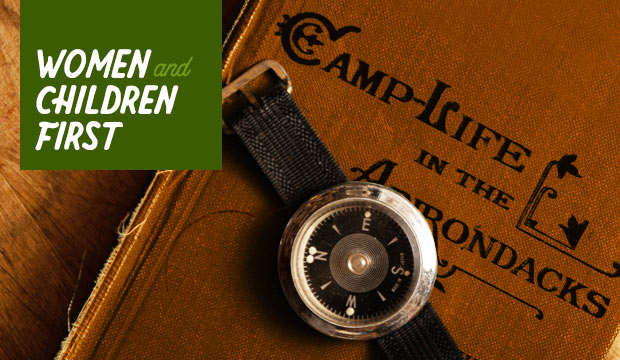 Camping: Women and Children First