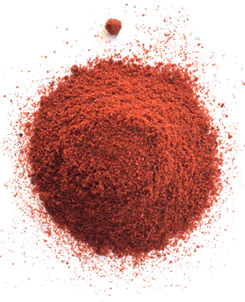 [ Info: powdered paprika, Spain  ] ~ from Monterey Bay Spice Company