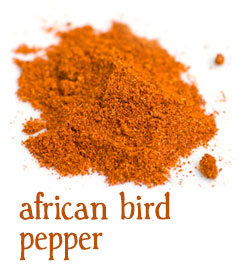 [ info: african bird pepper ] ~ from Monterey Bay Spice Company
