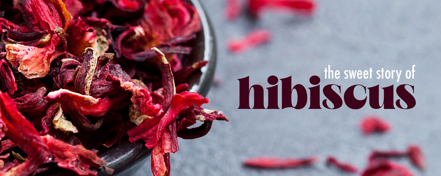 [ the sweet story of HIBISCUS ] ~ from HerbCo