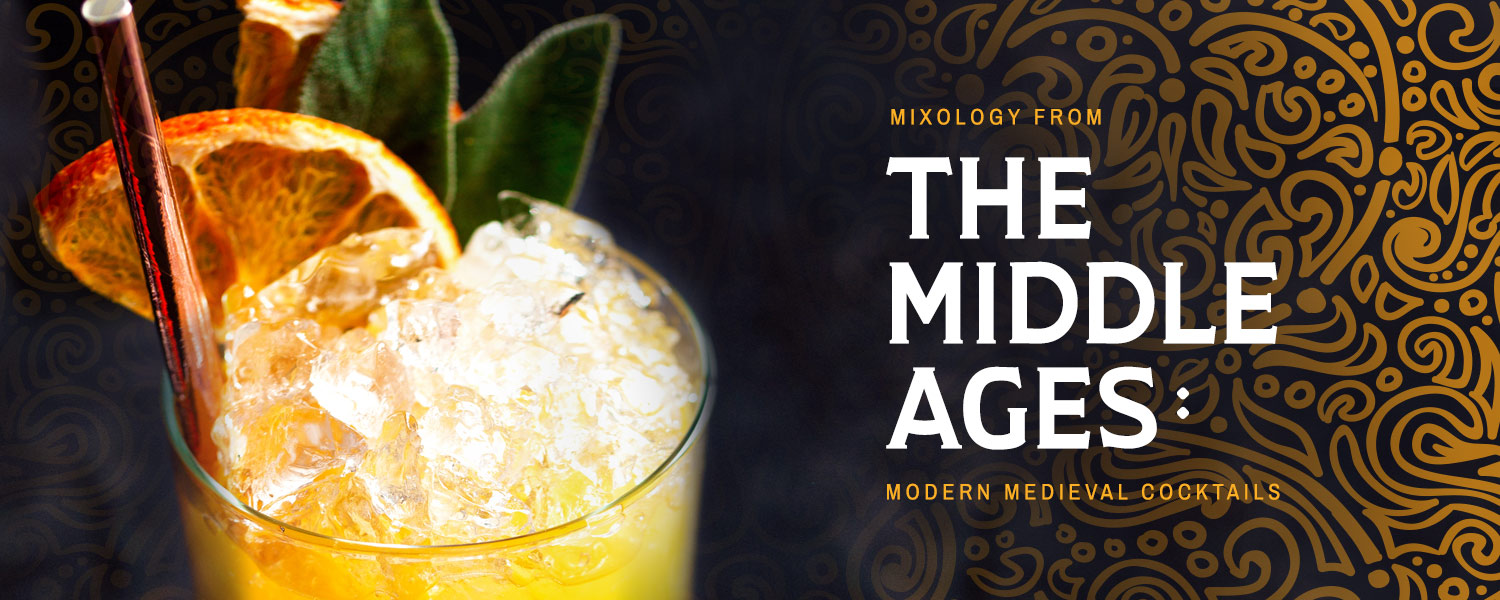 [ MIXOLOGY FROM THE MIDDLE AGES ] ~ from HerbCo