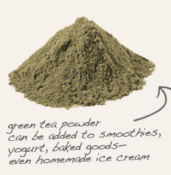 [ tip: Blend with green tea powder and yogurt to make a soothing facial mask.  ~ from Monterey Bay Spice Company ]