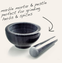 [ mortar and pestle ]