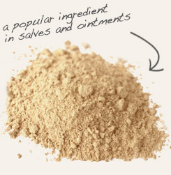 [ slippery elm bark tip: Combine red clay with slippery elm bark powder for a moisturizing facial treatment.  ~ from Monterey Bay Spice Company ]