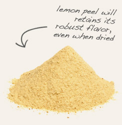 [ tip: Combine powdered peppermint with powdered lemon peel in seasoning blends. ~ from Monterey Bay Spice Company ]