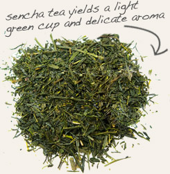 [ tip: Add a small amount of stevia extract to brewed Sencha, a traditional Japanese green tea. ~ from Monterey Bay Spice Company ]