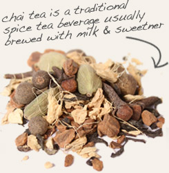 [ tip: Add guarana seed to chai tea blends to boost flavor and energy.  ~ from Monterey Bay Spice Company ]