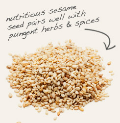 [ tip: Combine milk thistle seeds with sesame seeds in cereals, salads and breads.   ~ from Monterey Bay Spice Company ]