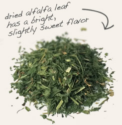 [ tip: Blend heal-all herb with alfalfa leaf in teas and herbal infusions.  ~ from Monterey Bay Spice Company ]