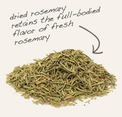 [ tip: Blend thyme with rosemary when seasoning vegetables, soups and stews. ~ from Monterey Bay Spice Company ]