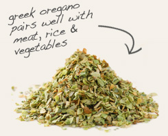 [ tip: Use garlic powder with oregano to season pasta and pizza dough.  ~ from Monterey Bay Spice Company ]
