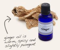 [ tip: Diffuse with ginger essential oil to promote confidence and independence. ~ from Monterey Bay Spice Company ]