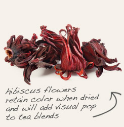 [ tip: Pair organic marshmallow root with bold hibiscus in tea blends. ~ from Monterey Bay Spice Company ]