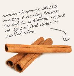 [ tip: Use whole cinnamon sticks to flavor and twizzle Hibiscus beverages.   ~ from Monterey Bay Spice Company ]