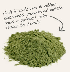 [ tip: Consider encapsulating red clover and nettle leaf together. ~ from Monterey Bay Spice Company ]