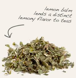 [ tip: Brew into tea with lemon balm, another herb that contains antioxidant polyphenols. ~ from Monterey Bay Spice Company ]