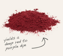 [ tip: Combine powdered madder root with powdered alkanet root for more color variance when making dyes.  ~ from Monterey Bay Spice Company ]