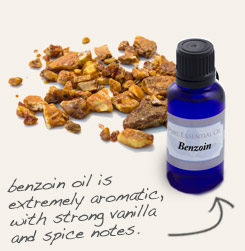 [ tip: Blend with benzoin essential oil to create masculine colognes. ~ from Monterey Bay Spice Company ]
