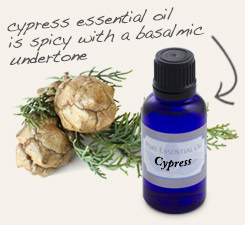 [ tip: Combine with cypress essential oil and witch hazel to make an astringent skin toner. ~ from Monterey Bay Spice Company ]