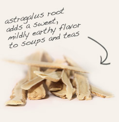 [ tip: Combine cut & sifted eleuthero root with astragalus root slices in herbal tea blends.  ~ from Monterey Bay Spice Company ]