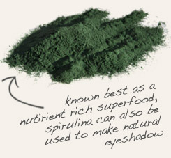 [ spirulina powder tip: Mix powdered chickweed herb with spirulina into foods, or combine both herbs in capsules.  ~ from Monterey Bay Spice Company ]