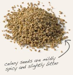 [ tip: Use yellow mustard seed with celery seed in pickling brines. ~ from Monterey Bay Spice Company ]