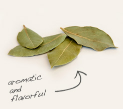 bay leaf pairs well with anise seed
