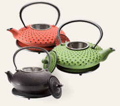 Cast Iron Teapot with Matching Trivet