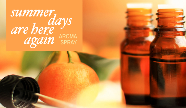 RECIPE - Summer Days Are Here Again - Aroma Spray