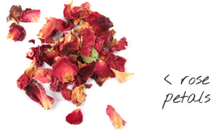[ rose petals ] ~ from Monterey Bay Spice Company