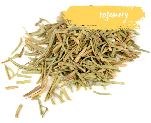 [ Late-Summer Herbal Skin Care Formulas: Rosemary ] ~ from Monterey Bay Spice Company