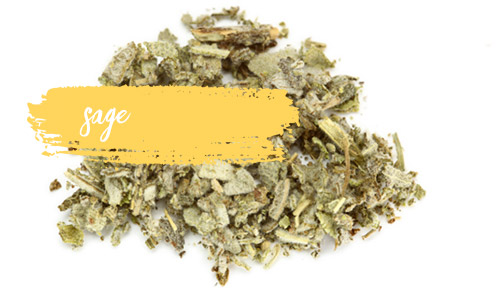 [ Late-Summer Herbal Skin Care Formulas: Sage ] ~ from Monterey Bay Spice Company