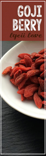 [ 6 Super Simple Superfoods: Goji Berry (Lycii Berry)  ] ~ from Monterey Bay Spice