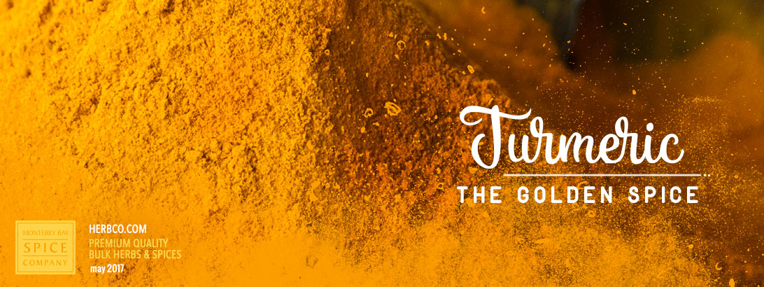 [ Turmeric: The Golden Spice ] ~ from Monterey Bay Spice Company