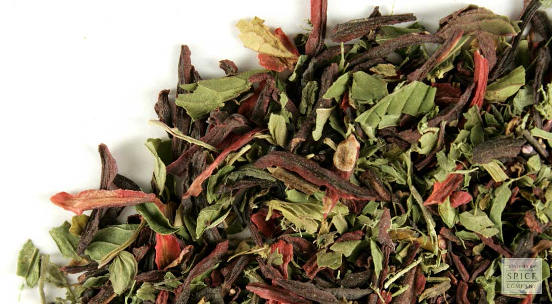 Hibiscus Mint - Bulk Teas - Herbal Tea Blends