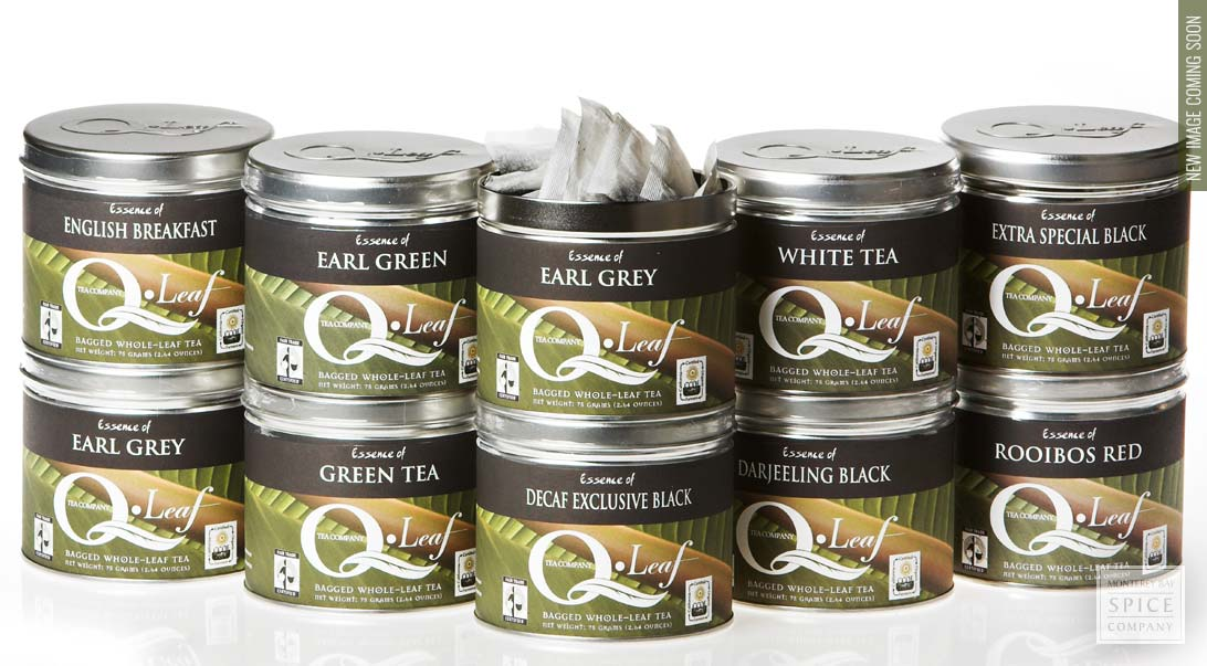 Earl Grey Tea, Tea Bags in Tin