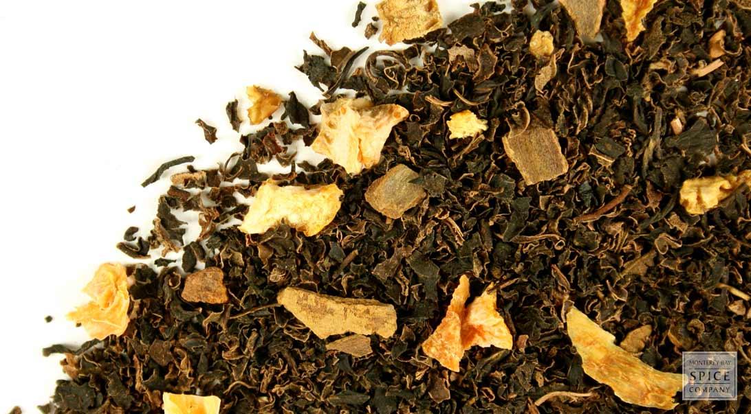 Bulk Decaffeinated Orange Spice Cinnamon Loose Leaf Tea