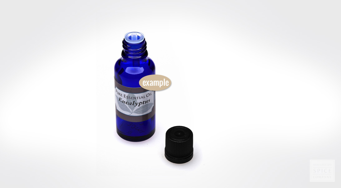 example essential oil bottle