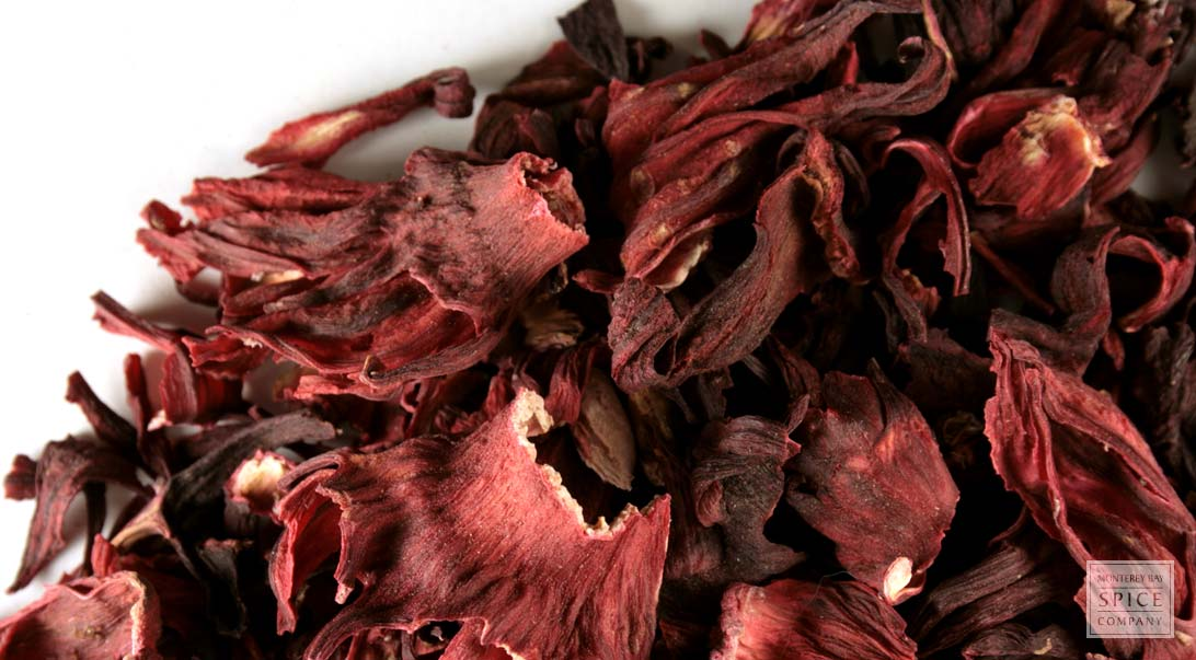 Hibiscus flower, whole Organic