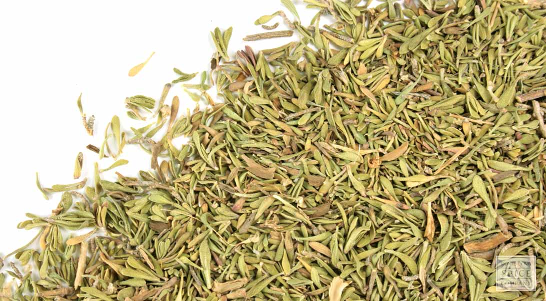 Part P Certificate >> Monterey Bay Spice Co. - Thyme leaf, c/s