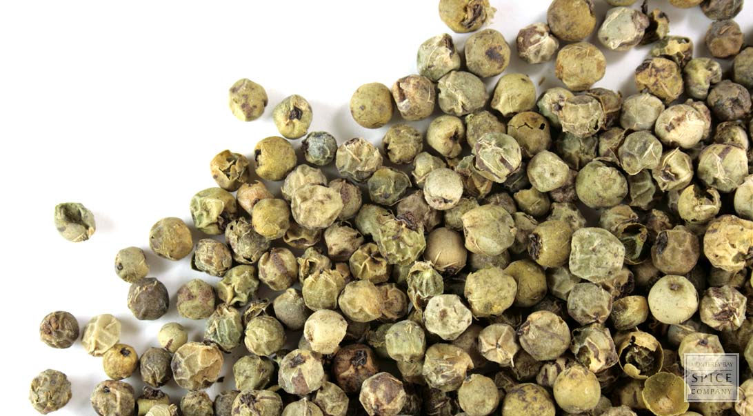 Peppercorn, green, whole