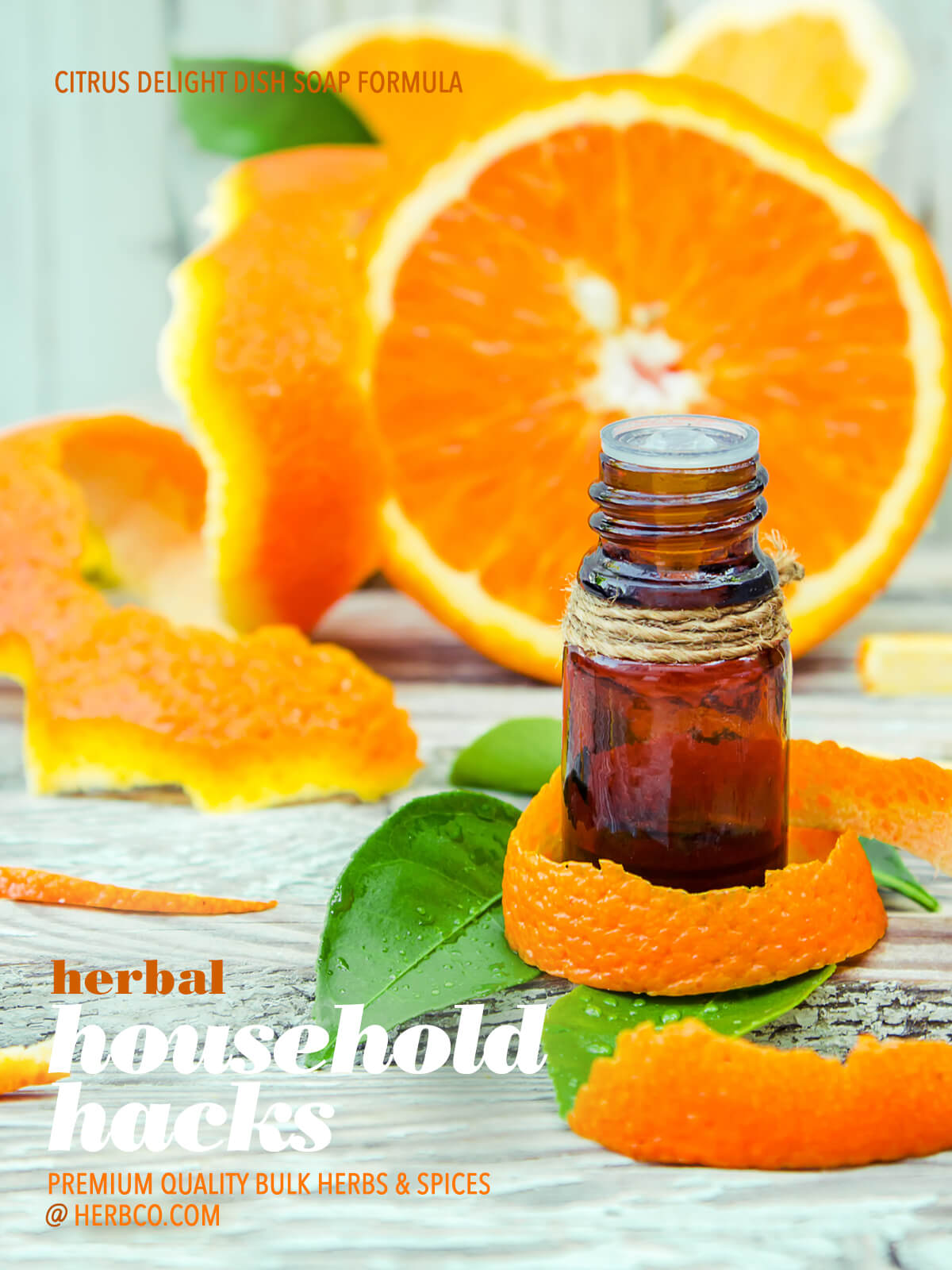 [ Recipe: Citrus Delight Dish Soap ] ~ from HERBCo