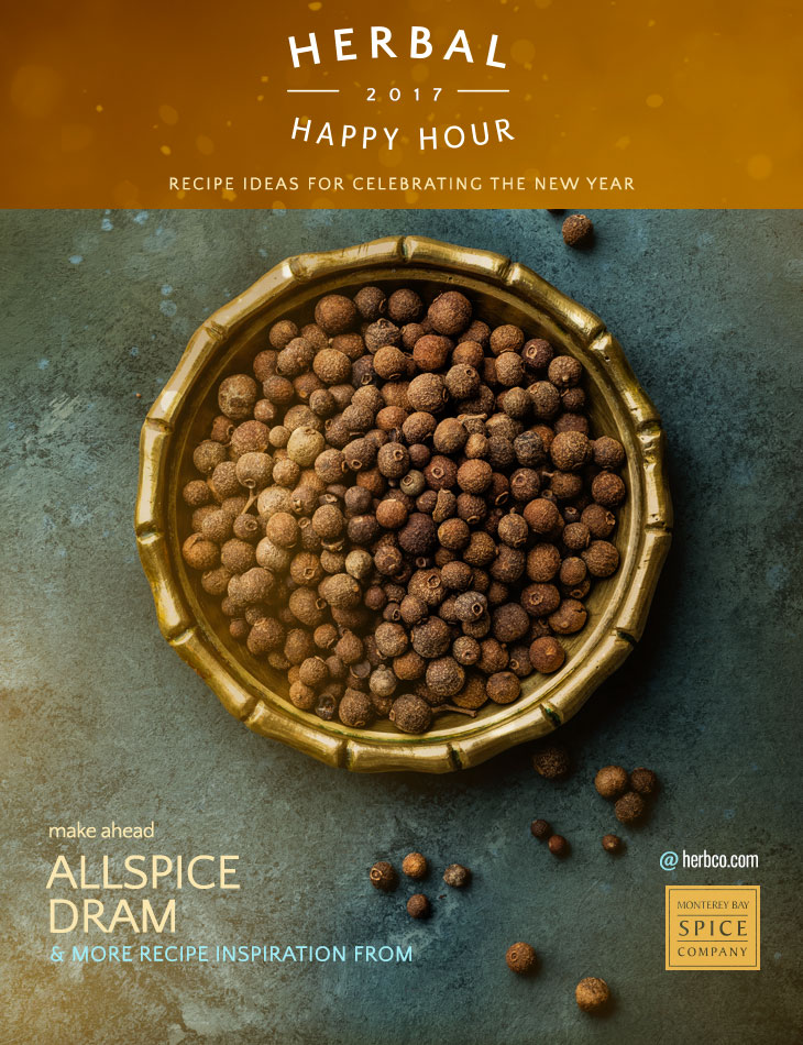 [ Recipe: Allspice Dram Recipe ] ~ from Monterey Bay Spice Co