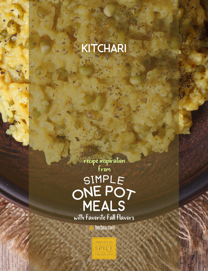 [ Recipe: Kitchari ] ~ from Monterey Bay Spice Co