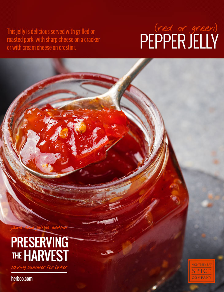 [ Recipe: Pepper Jelly ] ~ from Monterey Bay Spice Co